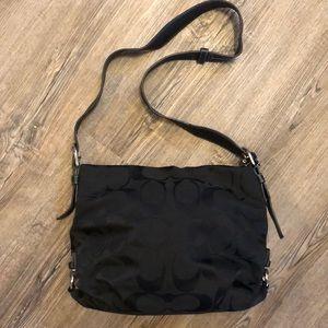 Coach Black Medium Size Shoulder Bag